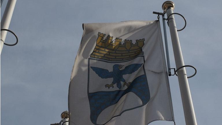 Emblem Kramfors kommun kommunflagga