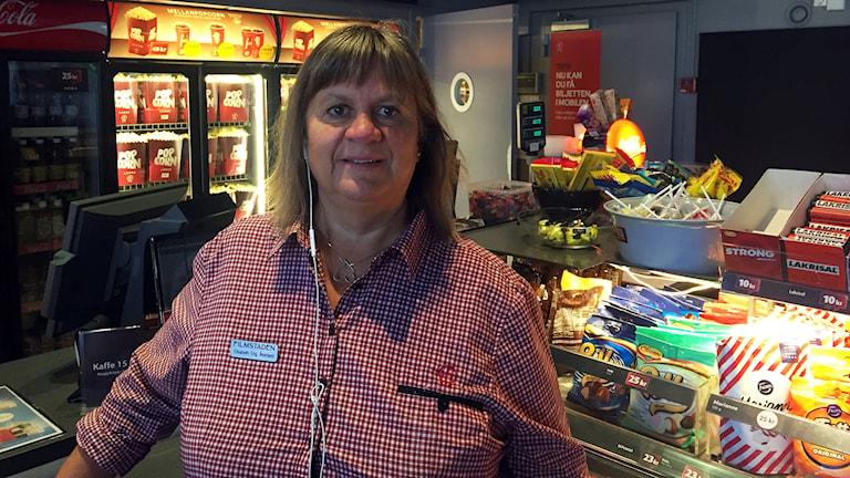 Elisabeth Eng Åkerlund på Filmstaden i Sundsvall