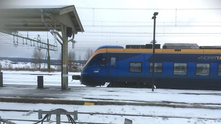 Norrtåg, tåg, tågstation, Sundsvalls central