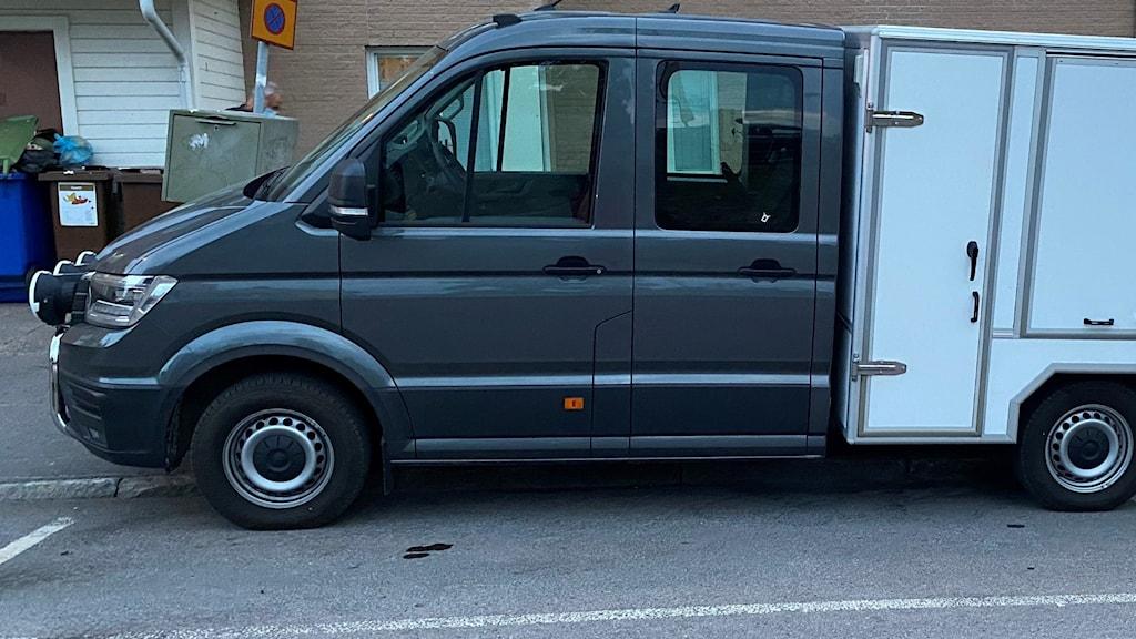polis härnösand kriminaltekniskt fordon