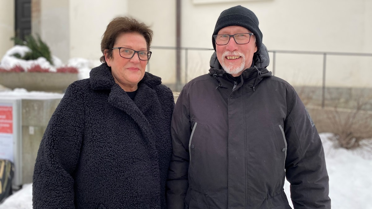 Cajåke Hägglund och Lena Fix Ehrencrona