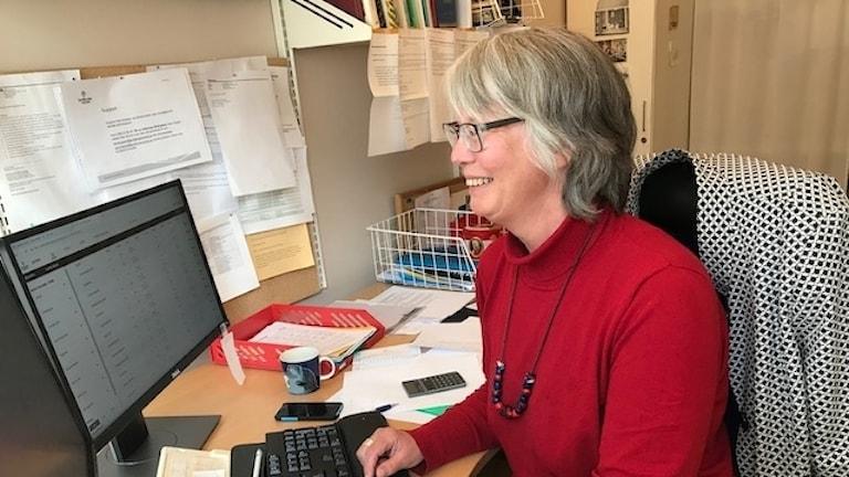 Anna Ullberg, handläggare på enheten för jordbrukarstöd och veterinär