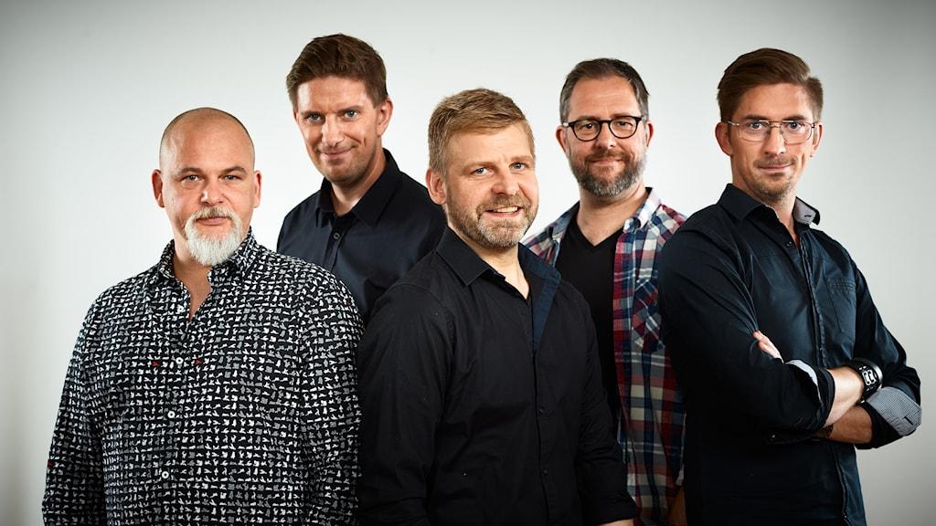 Acremen, lokala finalister i Svensktoppen nästa 2016, P4 Västernorrland. Foto: Kristofer Lönnå/Sveriges Radio