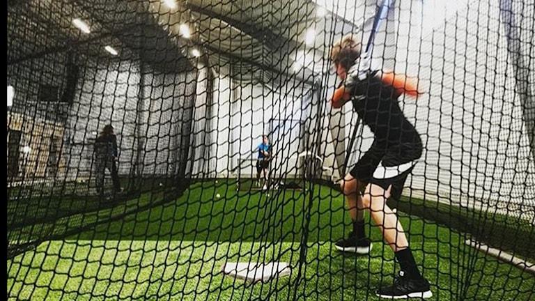 Ny hall för soft- och baseball i Sundsvall