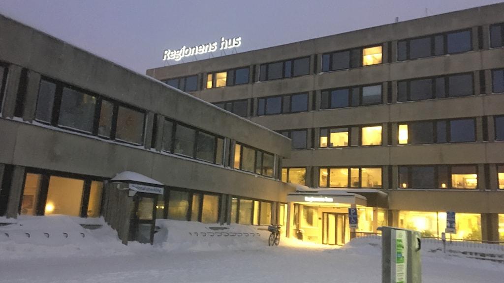 Regionens hus. Foto Ulla Öhman