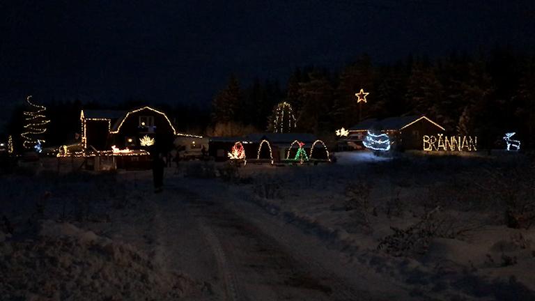 Julebelysning i Ånge