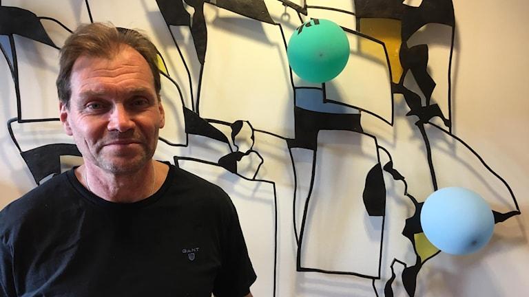Ordförande för SDFF Mikael Torstensson