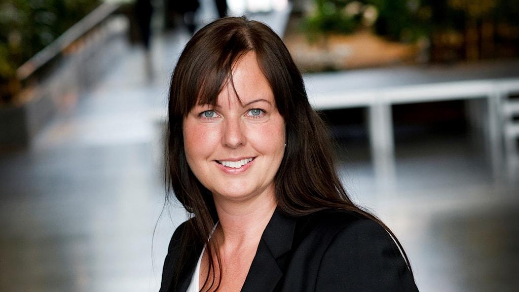 Charlotta Mellander, professor i nationalekonomi vid Jönköpings universitet. Foto: Anna Hållams