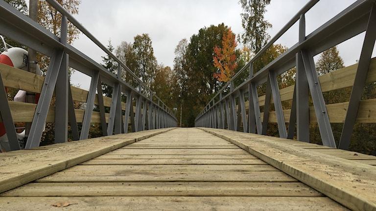 Bron som byborna i Kubbe/Norrflärke byggt.