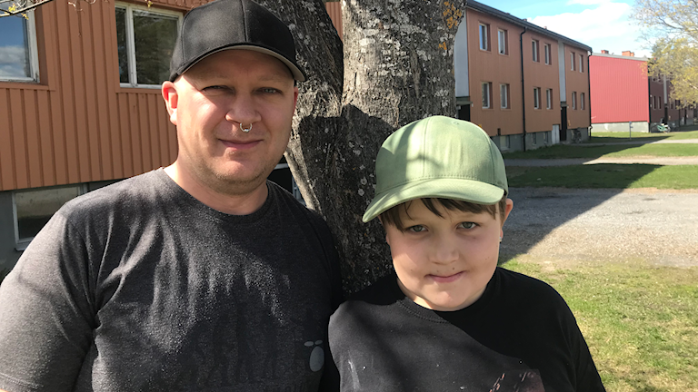 Stiftelsen, Martin Källström som just den här dagen tog med sonen Tintin