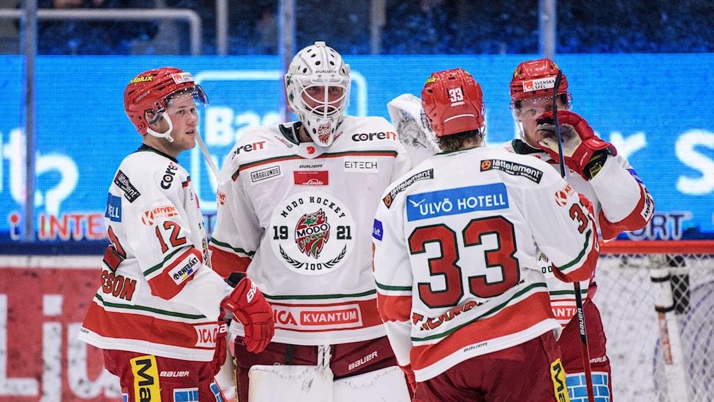 Tex Williamsson och Modo besegrade Västerås på bortaplan.