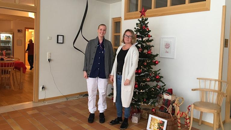 Åsa Pellikka och Julia Engman. Foto Ulla Öhman