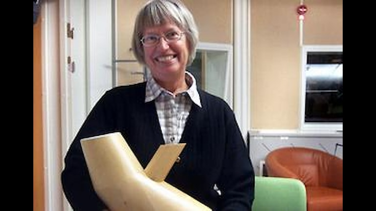Annika Dahlqvist blev Årets Västernorrlänning 2008. Foto: Sofia Forell