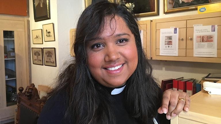 Erika Helenius, präst i Sköns församling i Sundsvall.