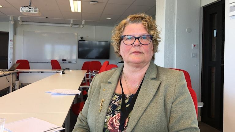 Inger Bergström, regiondirektör i Västernorrland.