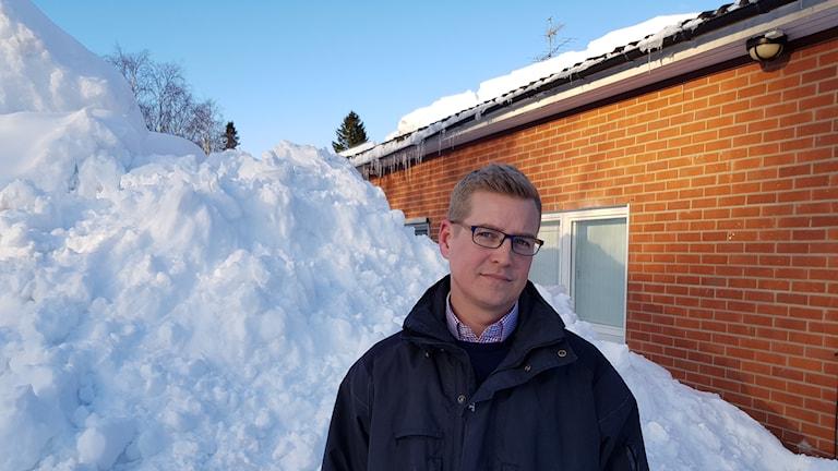 Christoffer Jonsson skadechef på Länsförsäkringar i Västernorrland