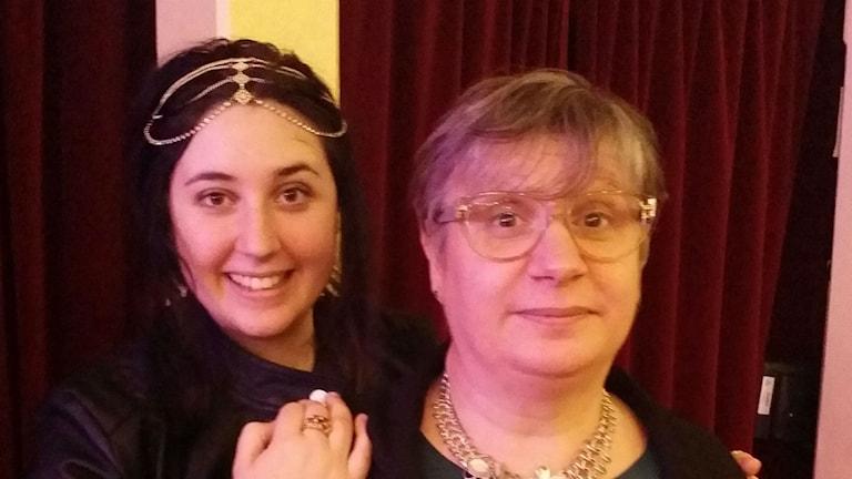 Alexandra och mamma Maria Andersson. Foto Privat