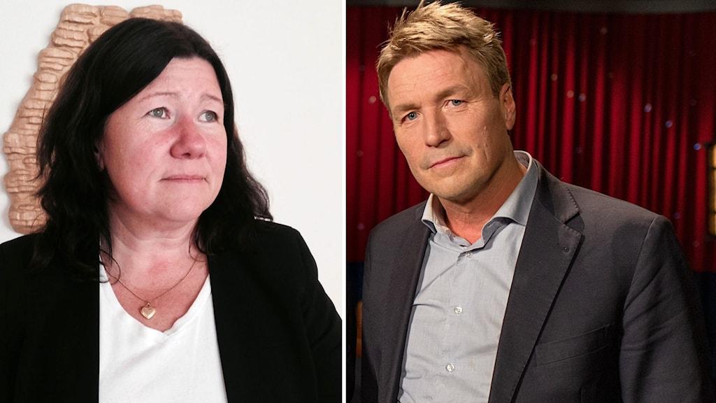 Åklagare Stina Sjökvist och advokat Thomas Bodström