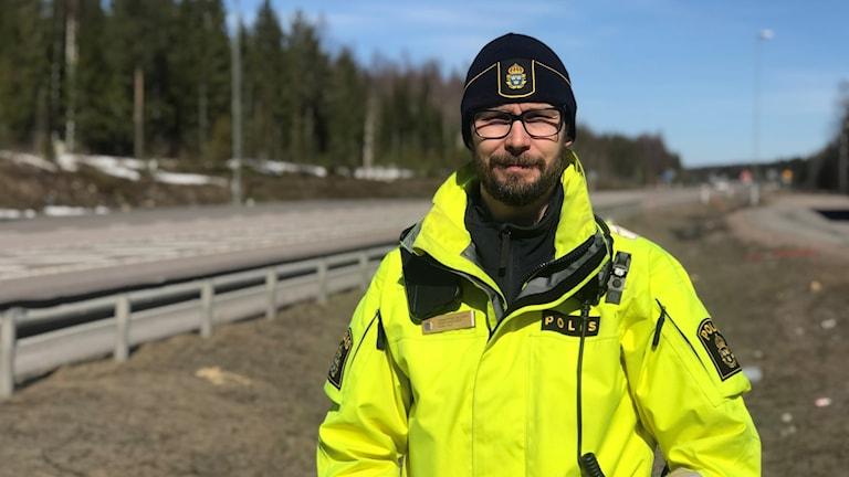 Christoffer Hallgren, trafikpolis