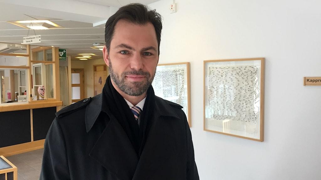 Advokaten Jonas Vedin. Foto: Billy Abraha
