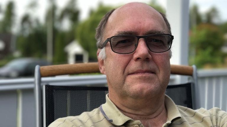 Kommendörkapten Ronald Forsberg berättar om Försvarsmaktens miljöarbete.