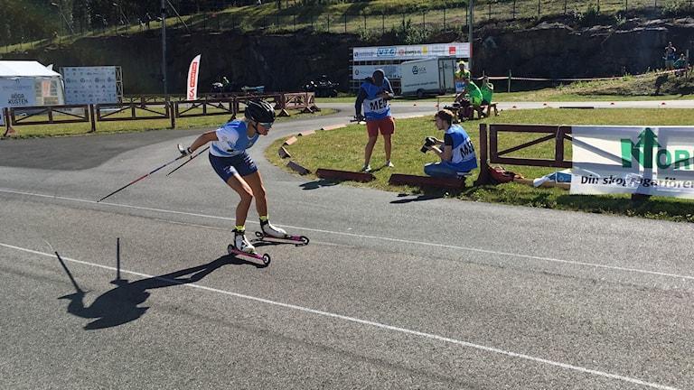 Frida Karlsson Sollefteå skidor i Rullskid-VM.
