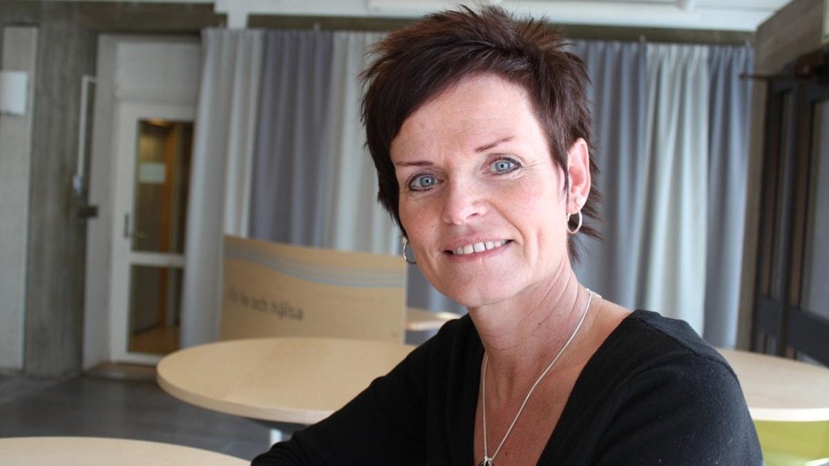 Lena Thelin, tidigare HR direktör vid landstinget i Västernorrland. Foto: Ingrid Engstedt Edfast/Sveriges Radio
