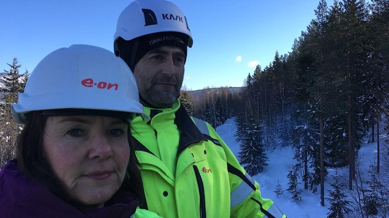 Roger Molin, Eon och Lena Berglund Regionchef Eon