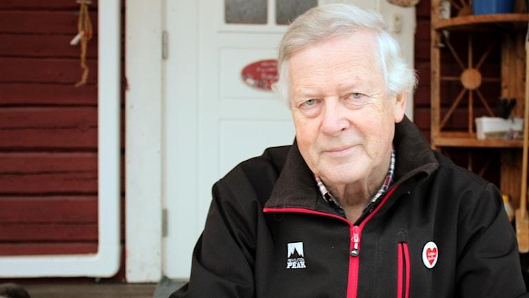 Nils-Gunnar Molin nominerad till Årets Västernorrlänning 2016. Foto: Peter Hansson/Sveriges Radio