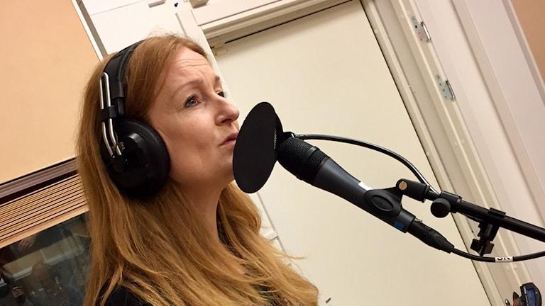 Anna Stadling. Foto: Karin Lönnå/Sveriges Radio