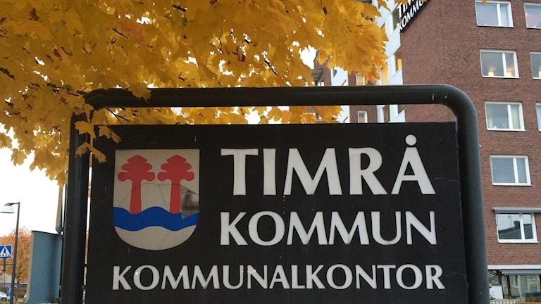 Kommunhuset i Timrå. Foto: Ingrid Engstedt Edfast/Sveriges Radio