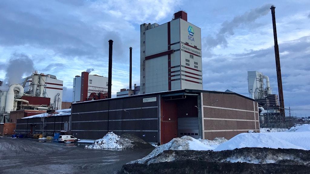 SCA Östrand utomhus vinter
