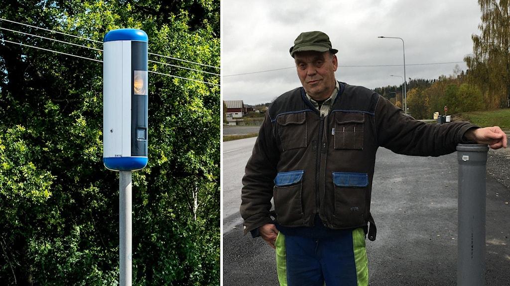Elva nya fartkameror vid vägar i Västernorrland
