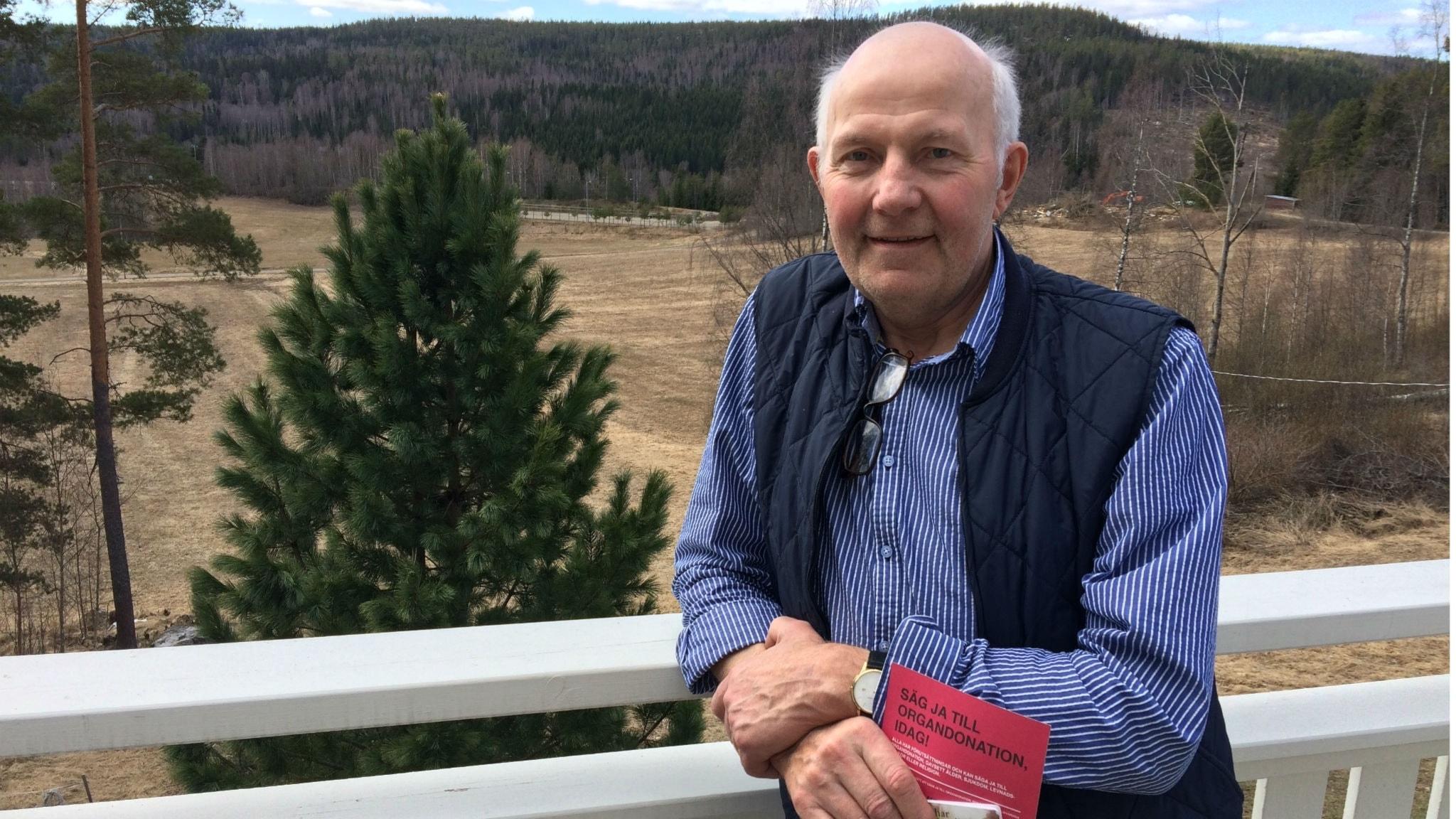 Organdonation räddade hans liv – fick nya lungor