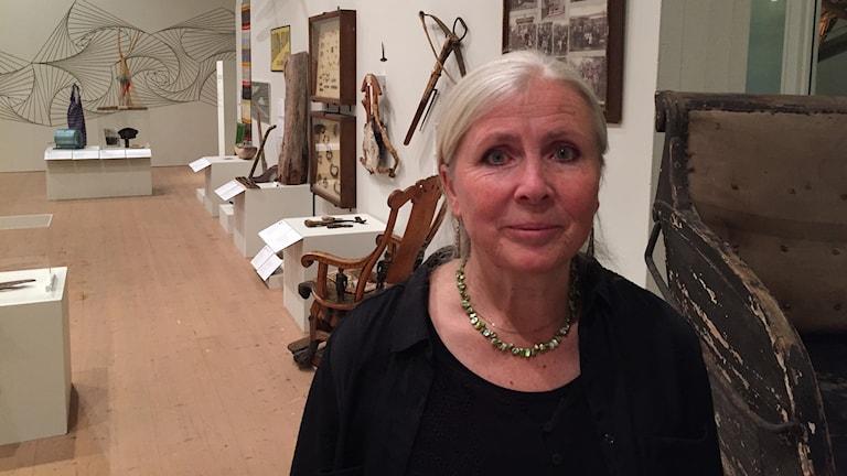 Brita Wessinger ordförande Länsmuseet Västernorrland