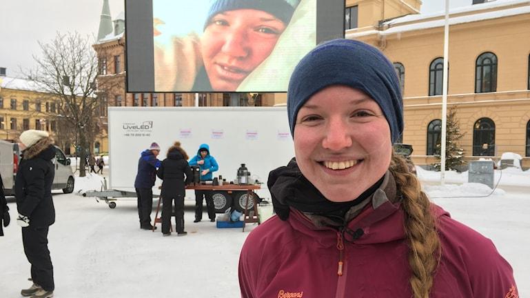 Fredrika Ek hemma i Sundsvall efter tre år på cykel
