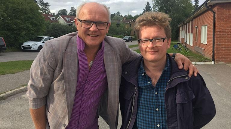 Christian Lindberg och Per Egland