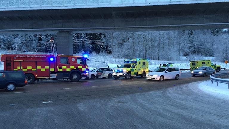 Trafikolycka Örnsköldsvik