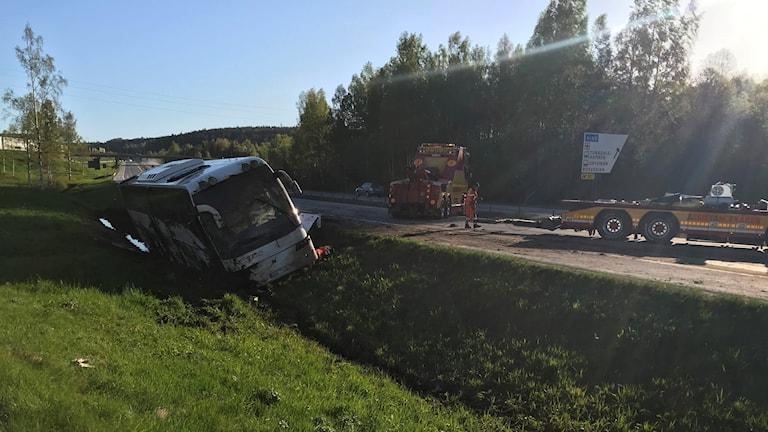 bussolycka Bydalen
