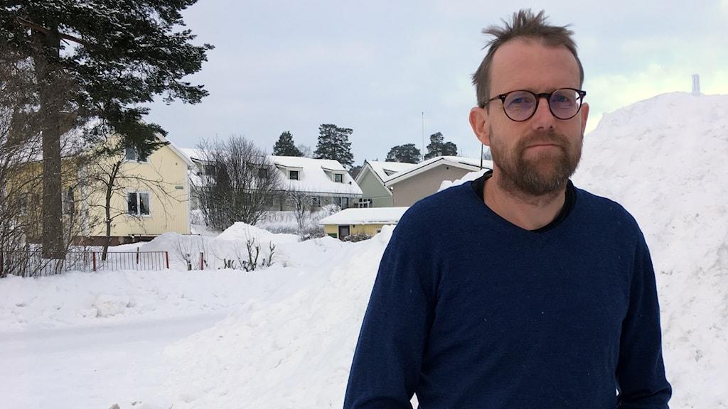 Örjan Fröjd, läkare på Sidsjö Vårdcentral och Avonova, som jobbar med företagshälsovård.