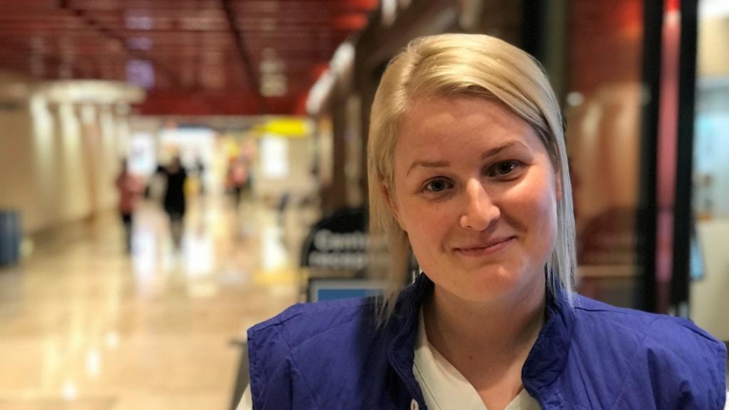 Linn Estefors, sjuksköterska