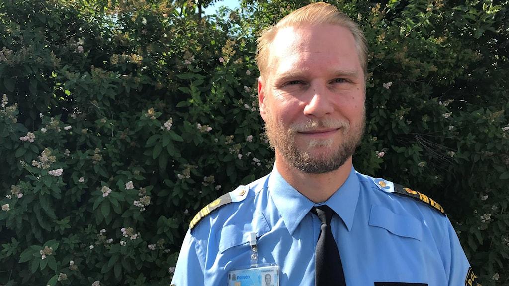 Polischefen i medelpad Josef Wiklund