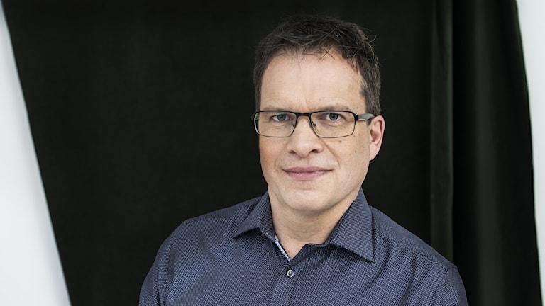 Peter Sjölund släktforskare och medförfattare till boken Svenskarna och deras fäder. Foto: Ulrica Zwenger