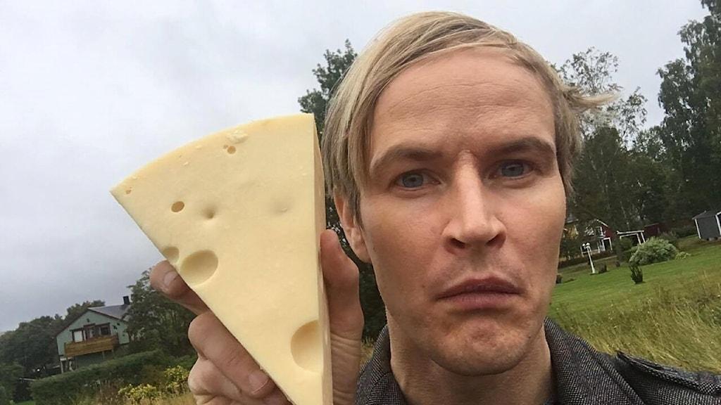 Jens Nilsson med en Grevéost.