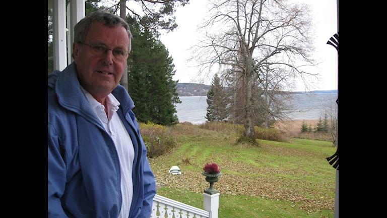 Lars Felländer en av de engagerade i Granli-Petersviks intresseförening ger inte upp trots kommunfullmäktiges beslut. Foto: Karin Lycke.