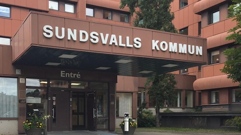 Sundsvalls kommun entré.