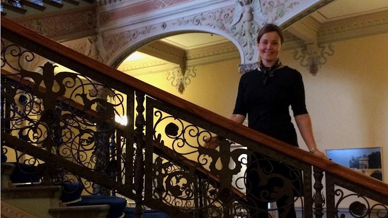 Hotelldirektör Ulrika Widmark Norberg