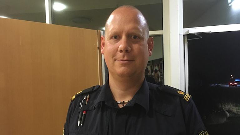 Andreas Dahlbom, kommunpolis Södra Ångermanland