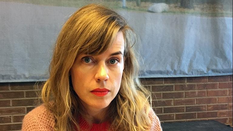 Annika Norlin som är artisten Säkert!
