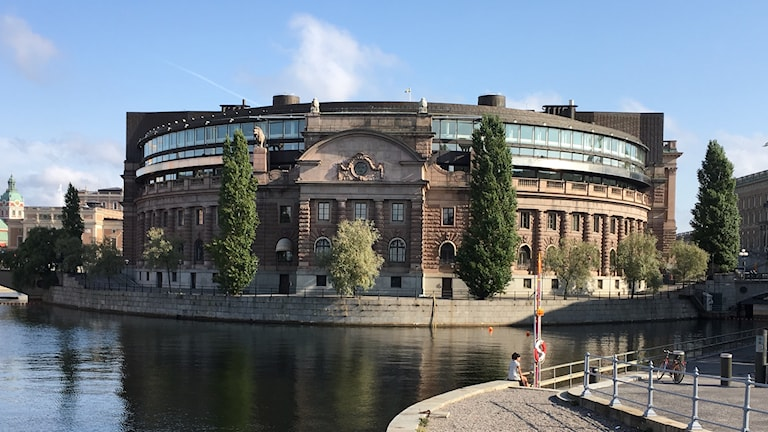 Riksdagshuset i Stockholm. Foto: Matilda Jansson/Sveriges Radio